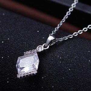 Srebrna 925 Ogrlica Moon srebrni nakit prodaja