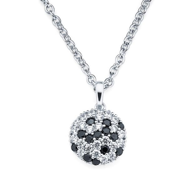 Trendi 925 Srebrna Ogrlica Grace crna srebrni nakit prodaja