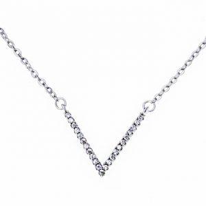 Trendi 925 Srebrna Ogrlica Valor srebrni nakit prodaja