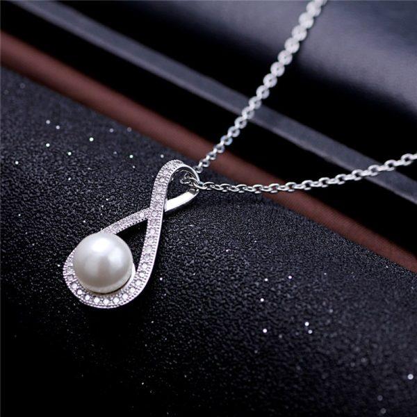 Trendi Srebrna Ogrlica Pearl srebrni nakit prodaja