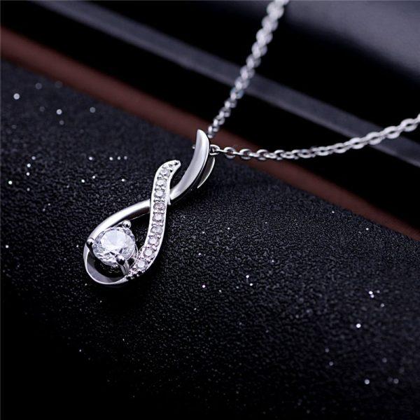 elegantna srebrna ogrlica srebrni nakit prodaja