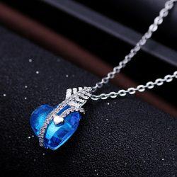 kupidon srce ogrlica srebrni nakit prodaja
